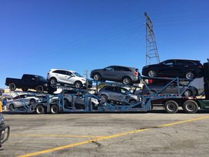 I'm selling 2004 eight car carrier trailer is it good condition everything is which truck or without truckWhich truck it 40,000 without drugs it's 20 for Sale in Los Angeles, CA