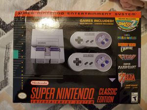 Nintendo super Nintendo classic for Sale in Fort Worth, TX
