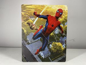 Spider man Homecoming - Steelbook collection 4K blu-ray/ DVD - no digital for Sale in Hollywood, FL
