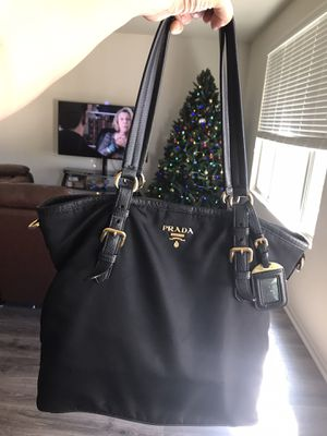 Authentic (NEW) Prada leather and nylon for Sale in Menifee, CA