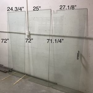Shower Glass Panel and Door for Sale in Miami, FL