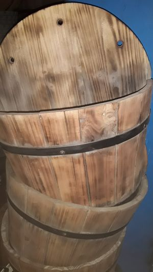 Wood flower pots for Sale in Los Angeles, CA