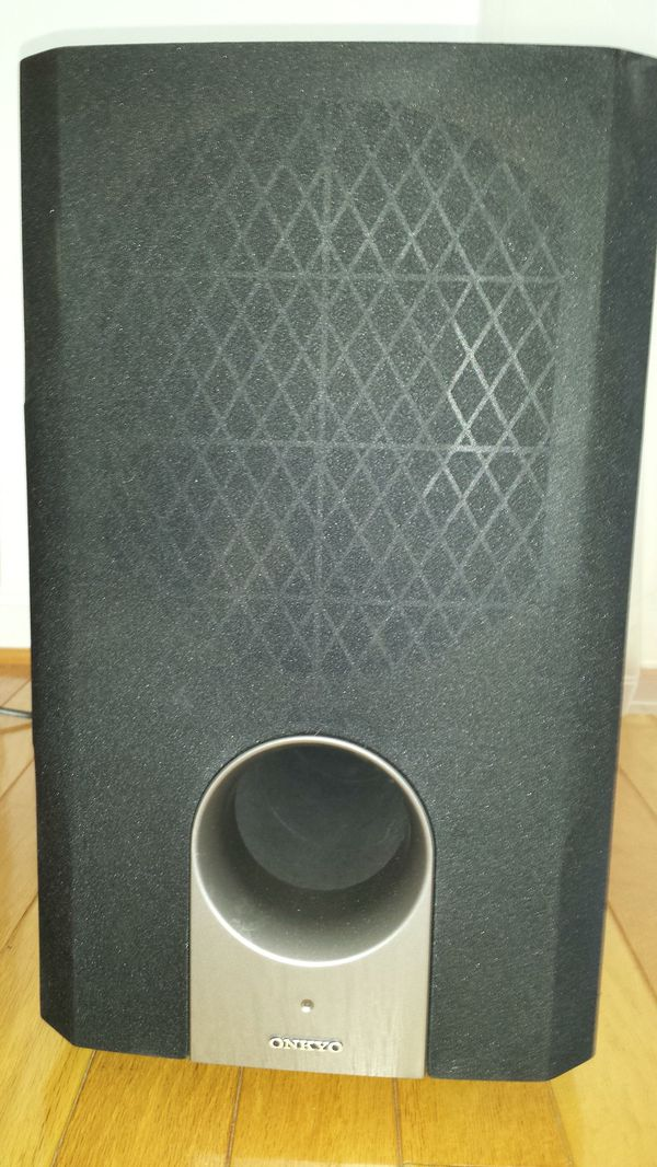 Onkyo Stereo Reciever TX-SR674 and speakers