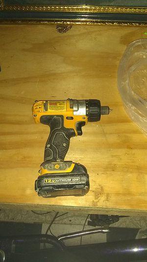 12 volt power drill dewalt for Sale in Springfield, MO