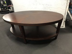 Crate & Barrel wood coffee table and console table for Sale in Melrose, MA