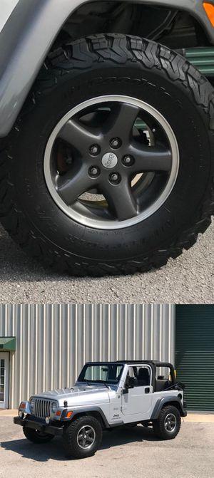 Price$1200 Jeep Wrangler O4 for Sale in Sloan, NY