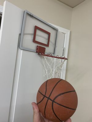 Door basketball hoop with ball for Sale in Indianapolis, IN