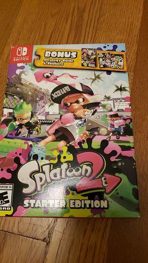 Splatoon 2 starter edition Nintendo switch for Sale in Bellevue, WA