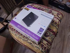 Netgear modem router AC1600 for Sale in Marietta, GA