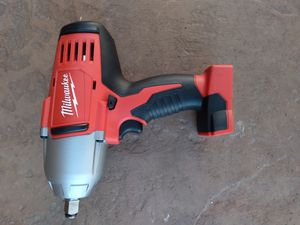 Milwaukee m18v nuevo tool only 1/2 for Sale in Moreno Valley, CA