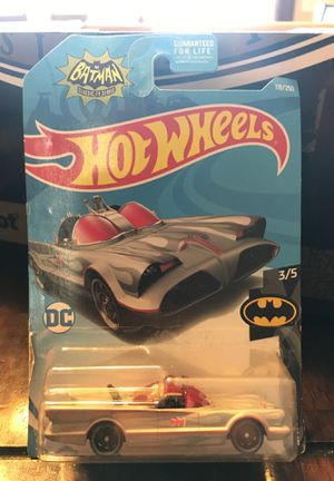 """Hot Wheels """"TV Series BatMobile"""" silver for Sale in Des Moines, IA"""