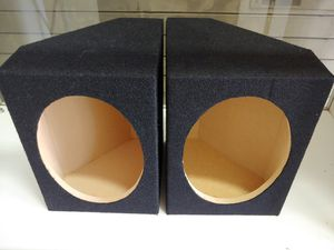 Speaker box : 6×9 twin box (USA MDF) wood brand new pair w11- h8- d8 ( price is lowest ) for Sale in Bell Gardens, CA