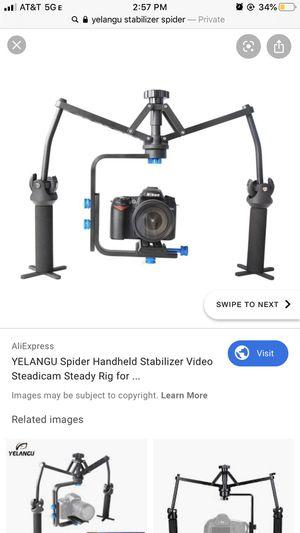 Yelangu DSLR Camera Stablizer for Sale in Los Angeles, CA