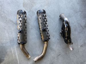 Two Brothers M2 Black Series Racing Motorcycle Exhaust for 09-14 Yamaha R1 for Sale in Las Vegas, NV