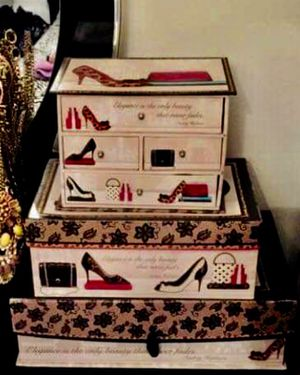 Decor boxes set of 3 for Sale in Chicago, IL