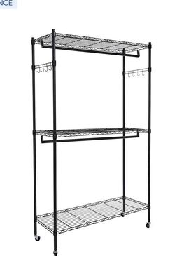 Clothing Rack Double Rod for Sale in Anaheim,  CA