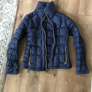 Navy Michael Kors Down Filled Coat for Sale in Lake Stevens, WA