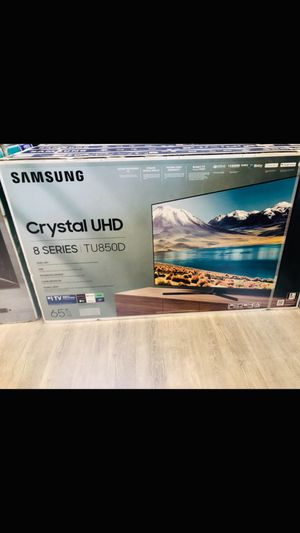 65 inch Samsung crystal uhd 4K smart tv for Sale in Upland, CA