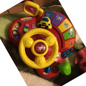 Interactive wheel toy baby/kids for Sale in Las Vegas, NV