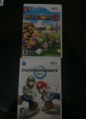 Wii Mario Games for Sale in West Valley City, UT