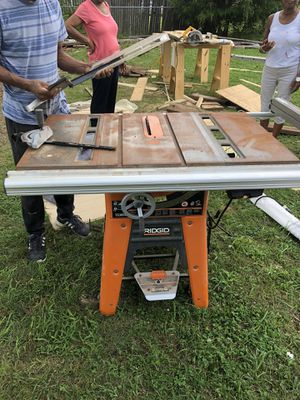 ridgid saw table for Sale in Fort Washington, MD