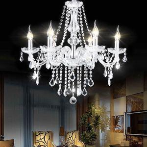 6-Light Elegant Crystal Chandelier for Sale in Henderson, NV