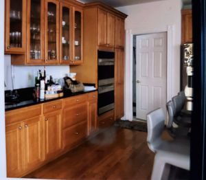 Full Solid Wood Kitchen with Kenmore Elite Oven, Dishwasher for Sale in Annandale, VA
