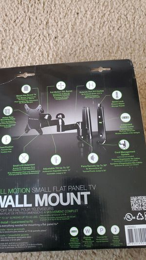 Wall mount tv for Sale in San Mateo, CA