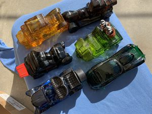 Antique set of 6 pieces Avon vintage collectable car parfum bottles for Sale in City of Industry, CA
