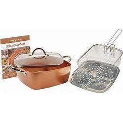 Copper Chef: 11Pc Square Casserole Set for Sale in Fort Worth,  TX