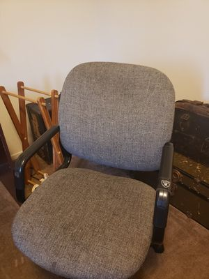 Solid wood desk lamp and office chair for Sale in Fresno, CA