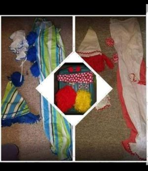(2) Handmade Halloween Clown Costumes for Sale in Stratford, CT