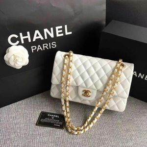 White Chanel Flap Bag for Sale in Union City, GA