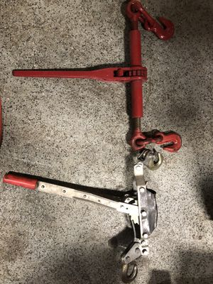Come along Tools - 2 Styles for Sale in Wixom, MI