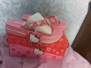Hello kitty sandals sz 1 for Sale in Bakersfield, CA