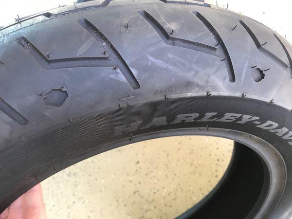 "Michelin Scorcher ""31"" Harley Davidson Branded Tire 130/90 16"