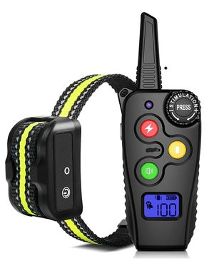 Shock Collar for Dogs with Remote 2800 Feet Rechargeable Dog Training Collar Waterproof Dog Shock Collar for Sale in Covina, CA