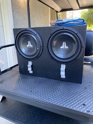 Jl audio full system for Sale in Modesto, CA