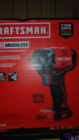 craftsman 3/8 impact wrench for Sale in Seattle, WA