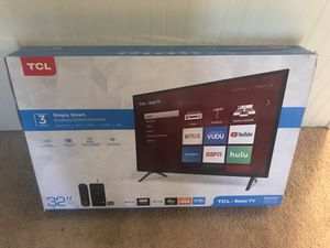 """TCL Roku Tv 32"""" for Sale in Spartanburg, SC"""