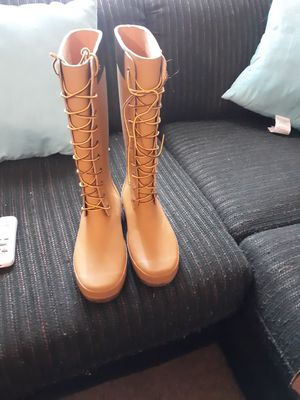 Timberland rain boots size 9 for Sale in Pittsburgh, PA