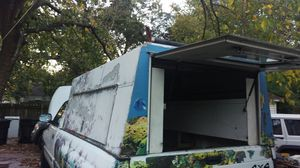 Truck work camper shell box for Sale in Houston, TX