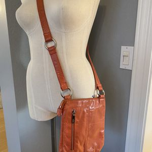 HOBO The Original Cross Body Coral Leather Bag Lots Of Pockets for Sale in Phoenix, AZ