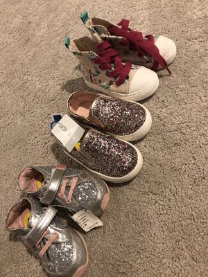 Toddler girl shoes for Sale in Minneapolis, MN