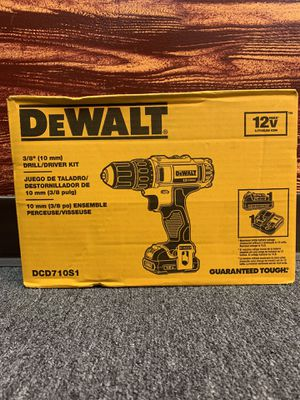 DeWalt DCD710S1 Drill/Driver Kit for Sale in Chicago, IL
