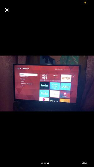 """TCL ROKU 32"""" SMART TV for Sale in Rahway, NJ"""