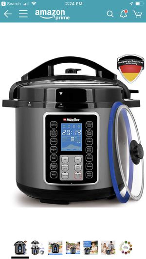 mueller 10-in-1 Pro Pressure cooker, new in sealed box for Sale in Henderson, NV