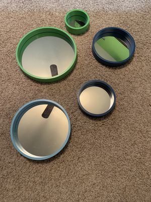 Pottery Barn Teen Bubble Mirrors for Sale in Round Rock, TX