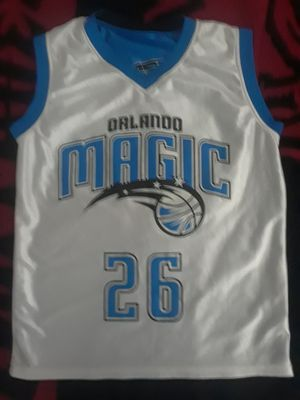 YOUTH ORLANDO MAGIC REVERSABLE JERSEY for Sale in Port Charlotte, FL