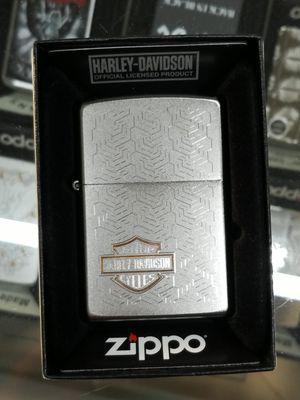 Zippo Harley Davidson satin chrome 49062 for Sale in Los Angeles, CA